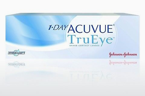 隐形眼镜 Johnson & Johnson 1 DAY ACUVUE TruEye 1D4-30P-REV