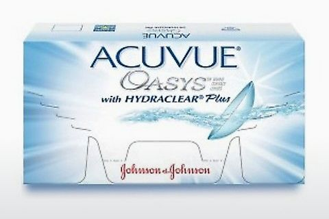 隐形眼镜 Johnson & Johnson ACUVUE OASYS with HYDRACLEAR Plus PH-12P-REV