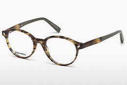 专门设计眼镜 Dsquared DQ5227 053 - 哈瓦那, Yellow, Blond, Brown