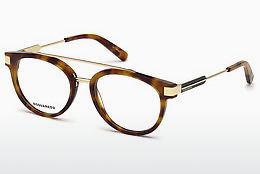 专门设计眼镜 Dsquared DQ5261 053 - 哈瓦那, Yellow, Blond, Brown