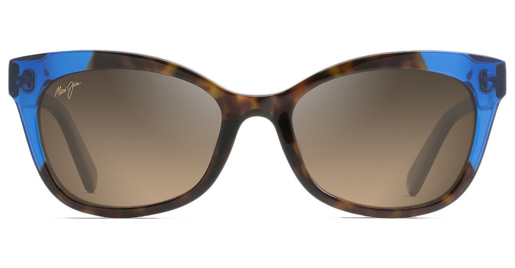 Maui Jim   Ilima HS759-68 HCL BronzeDark Tortoise with Electric Blue