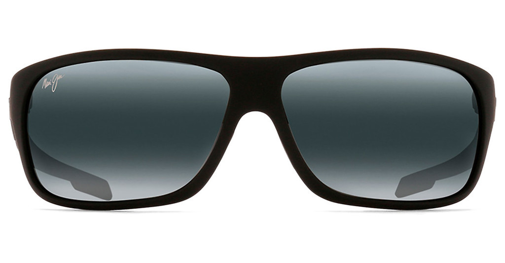 Maui Jim   Island Time 237-2M Neutral GreyMatte Black Rubber