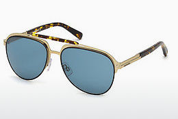 太阳镜 Dsquared DQ0283 34V - 铜色, Bright, Shiny