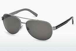 太阳镜 Ermenegildo Zegna EZ0004 14A - 灰色, Shiny, Bright
