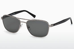 太阳镜 Ermenegildo Zegna EZ0068 14A - 灰色, Shiny, Bright