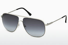 太阳镜 Tom Ford Dominic (FT0451 16W) - 银色, Shiny, Grey