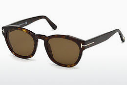 太阳镜 Tom Ford FT0590 52J - 棕色, Dark, Havana