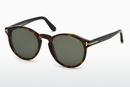 太阳镜 Tom Ford FT0591 52N - 棕色, Dark, Havana