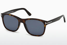 太阳镜 Tom Ford FT0595 52D - 棕色, Dark, Havana