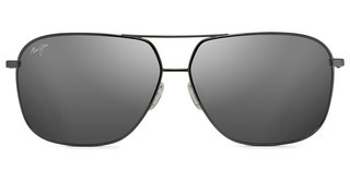 Maui Jim Kami DSB778-02D Dual Mirror (Silver to Black)Gunmetal (*frames are Rx'able, Dual Mirror lenses are not)