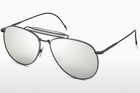 太阳镜 Thom Browne TB-015 BLK-LTD