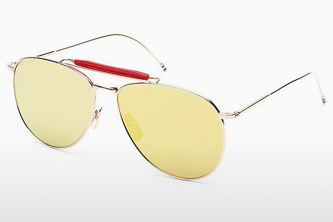 太阳镜 Thom Browne TB-015 GLD-LTD