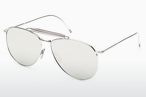 太阳镜 Thom Browne TB-015 SLV-LTD