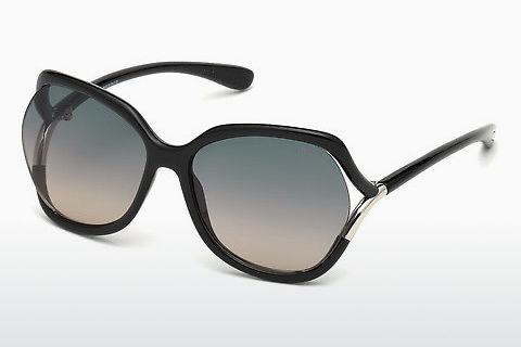 太阳镜 Tom Ford Anouk-02 (FT0578 01B)