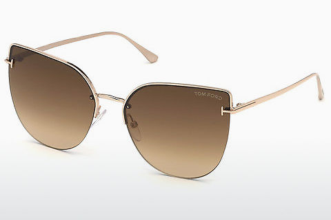 太阳镜 Tom Ford Ingrid-02 (FT0652 28F)
