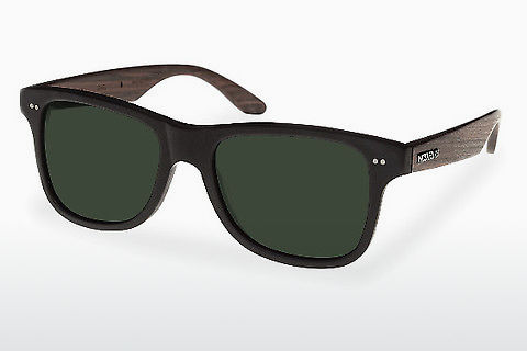 太阳镜 Wood Fellas Lehel (10757 rosewood/black/green)